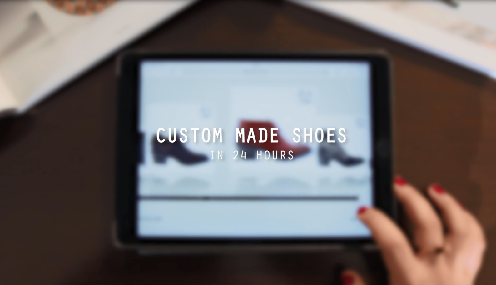 Custom Made Shoes in 24 hours